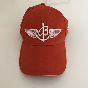 Breitling Baseball Pilot's Orange Hat Cap One Size